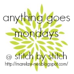 Anything Goes Mondays button